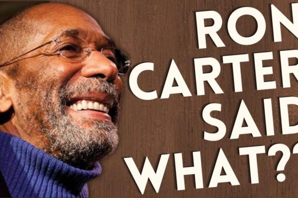 Open Studio: Ron Carter Interview