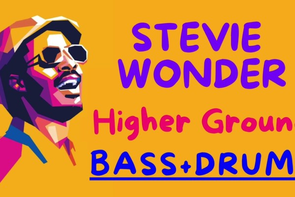 "Stevie Wonder: ""Higher Ground"" Isolated Synth Bass and Drums"