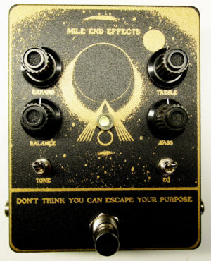 Mile End Effects DTYCEYP Fuzz-Preamp Pedal