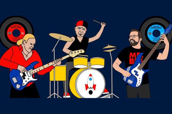 Jason Raso: Rocket Launch (with Billy Sheehan and Paul DeLong)