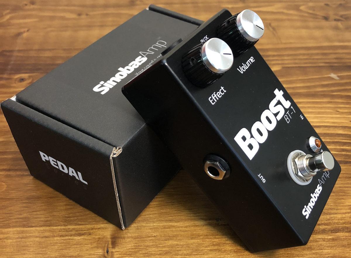 Sinobas Amplification BT-1 Boost Pedal