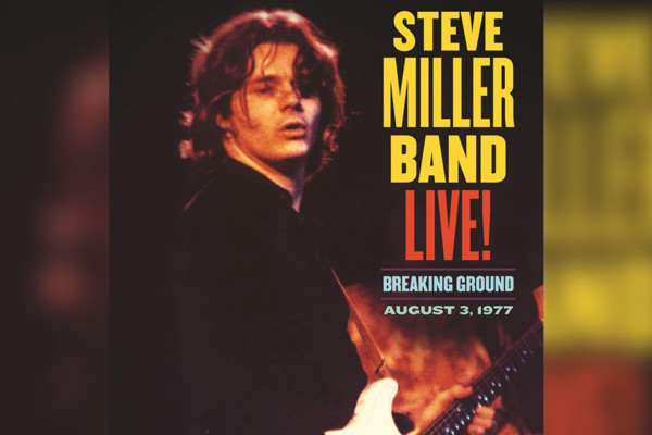 Lonnie Turner Anchors Archival Steve Miller Band Release