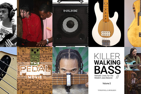 Weekly Top 10: Jaco Pastorius Bass Solo Transcription, Synth Bass, New Bass Gear, and More