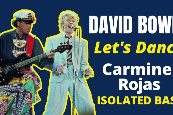 """David Bowie: Carmine Rojas's Isolated Bass on """"Let's Dance"""""""