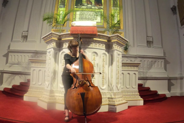 Mariya-Andoniya Andonova-Henderson: Cello Suite No.6, Prelude