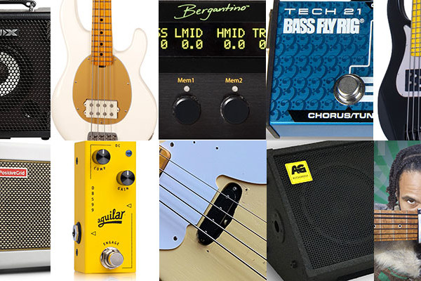 Bass Gear Roundup: The Top Gear Stories in May 2021