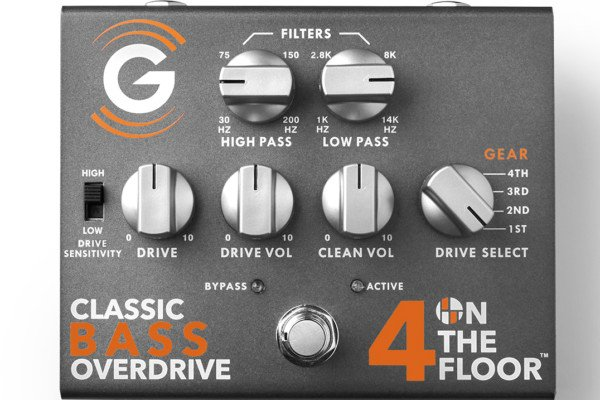 Genzler Amplification Launches Pedal Series with 4 On The Floor Bass Overdrive