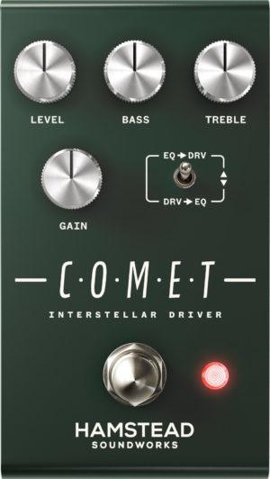 Hamstead Soundworks Comet Interstellar Driver Pedal