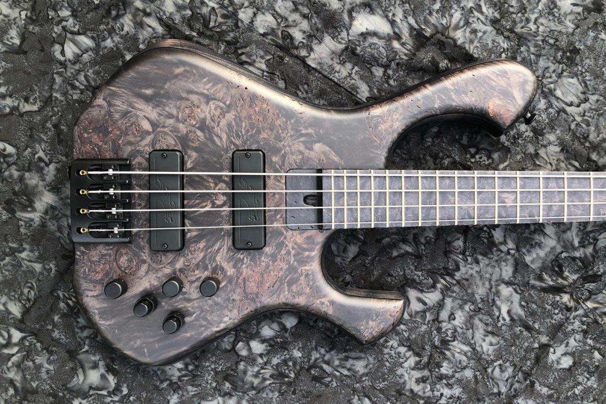 Skjold Design Guitars Skjoldslayer 4-34 Bass Body 2