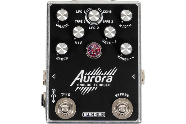 Spaceman Effects Unveils the Aurora Analog Flanger Pedal