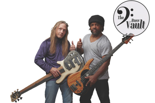 Steve Bailey and Victor Wooten Launch The Bass Vault