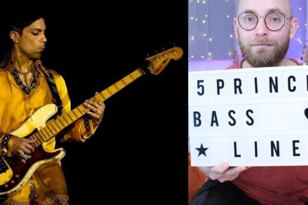 Huw Foster: 5 Prince Basslines (and How To Play Them)