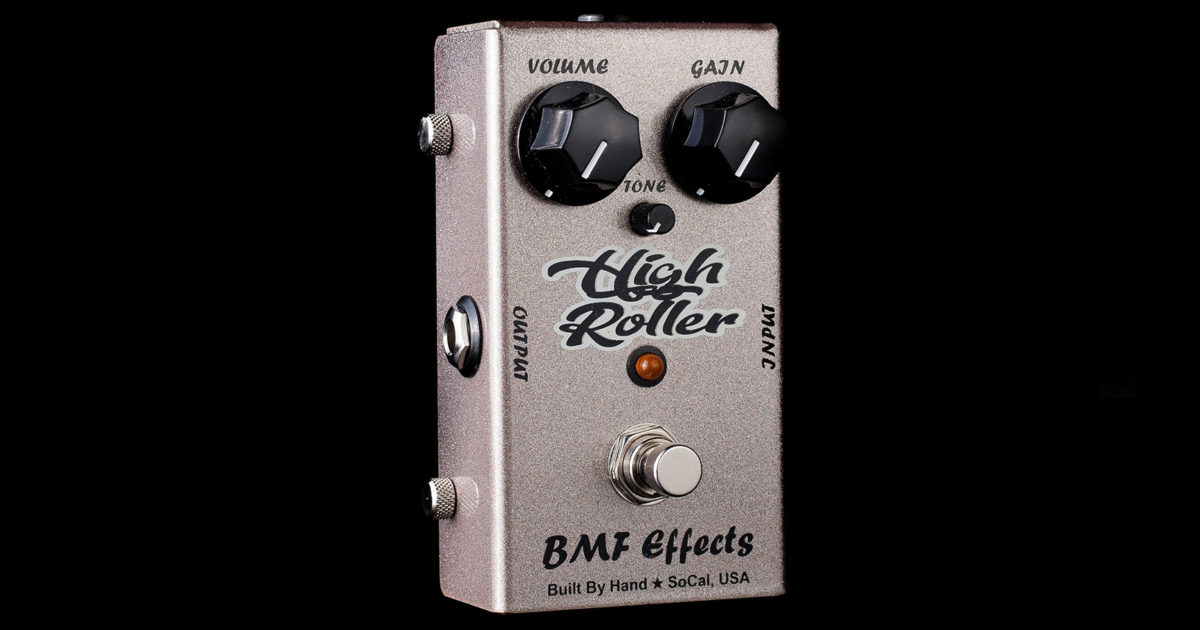 BMF Effects High Roller Distortion Pedal
