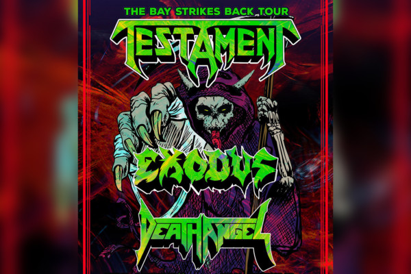 Testament, Exodus, and Death Angel Announce New Tour Dates