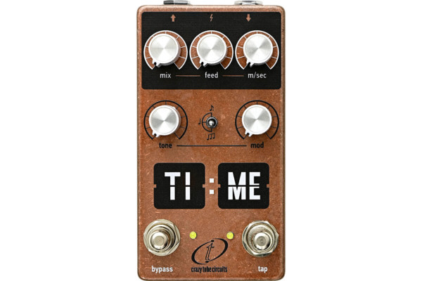 Crazy Tube Circuits Unveils the TI:ME Delay Pedal