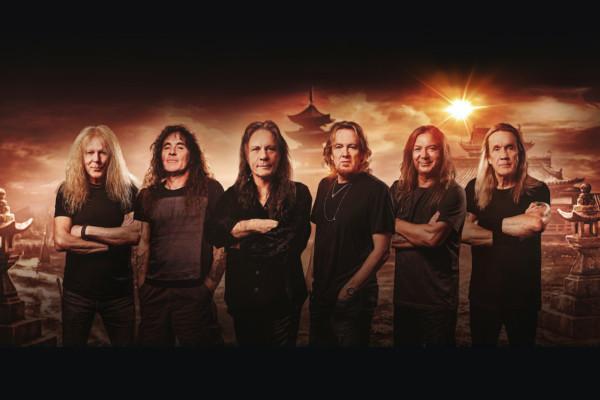 """Iron Maiden Announces 17th Studio Album, """"Senjutsu"""""""
