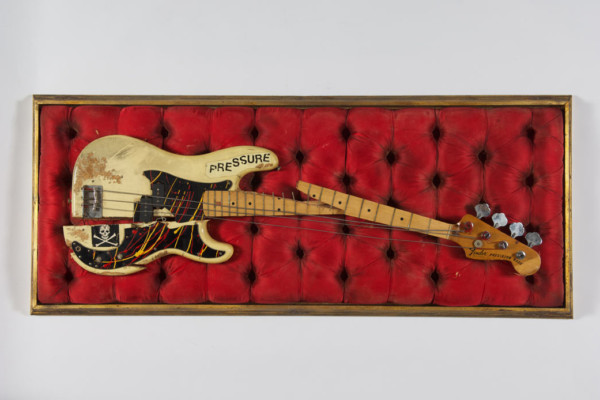 """Paul Simonon's """"London Calling"""" Bass Going on Permanent Display at Museum of London"""