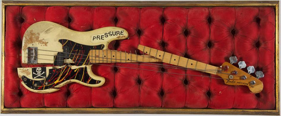 Paul Simonon Broken Bass