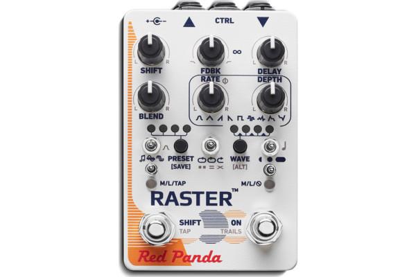 Red Panda Announces Raster 2 Digital Delay Pedal