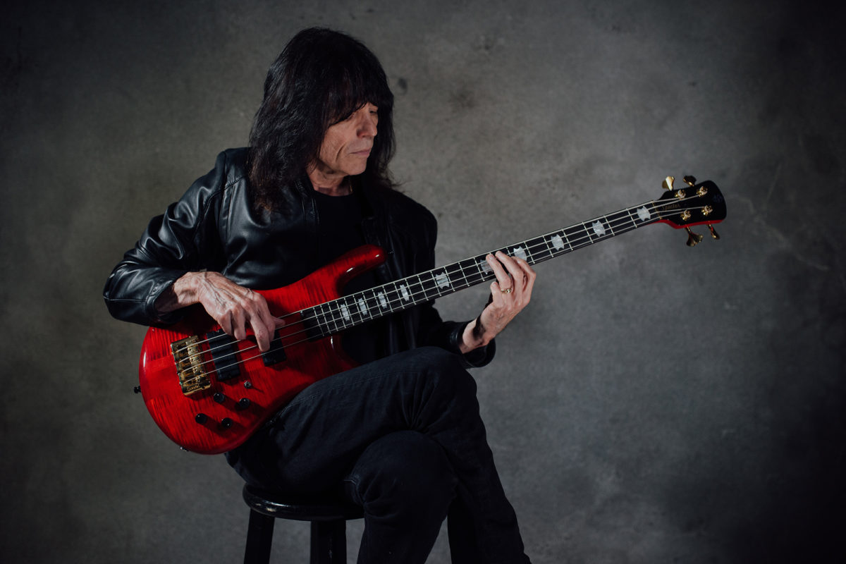 Rudy Sarzo with Spector Euro4 LT Signature Bass