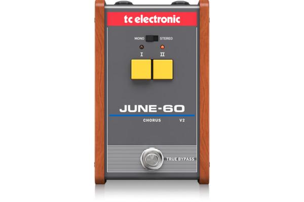 TC Electronic Now Shipping June-60 Chorus V2 Pedal