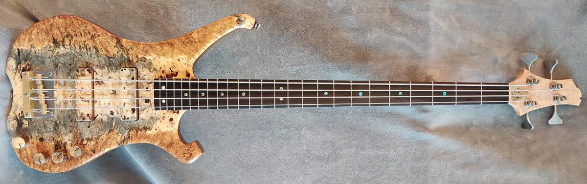 96 Art Custom Instruments Neck-Through Bass
