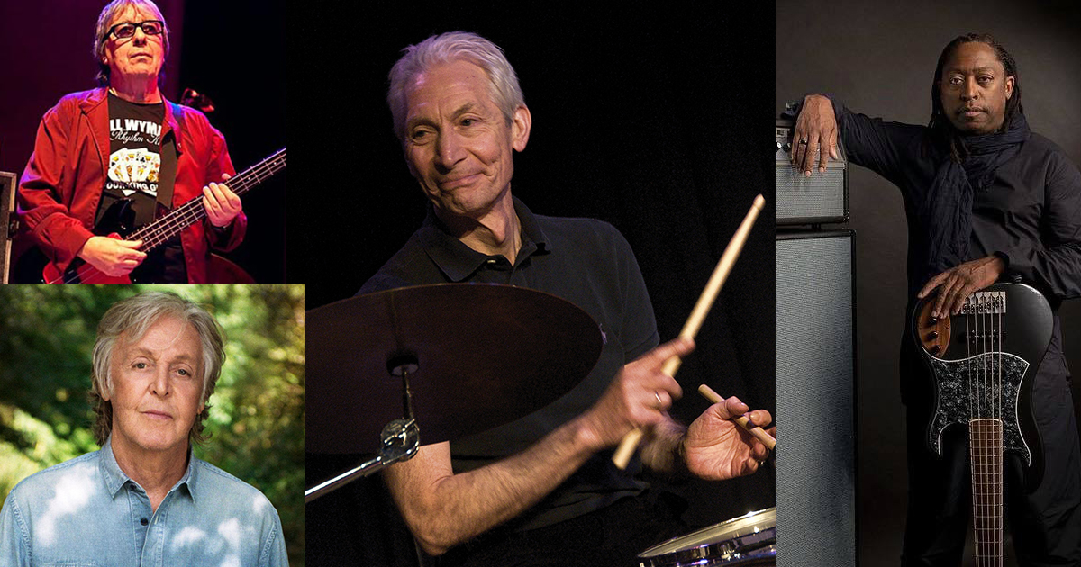 Bassists Remember Charlie Watts