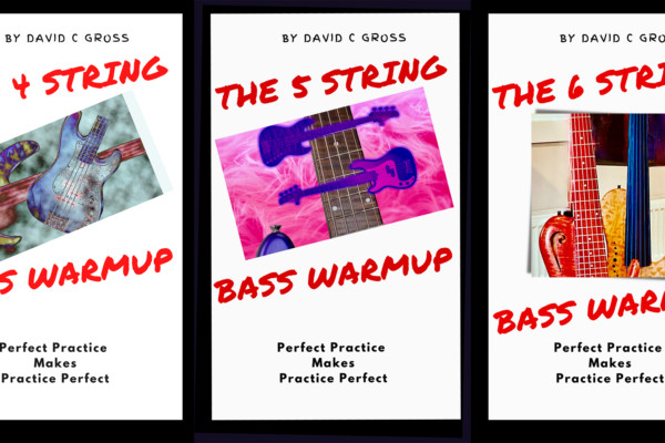 David Gross Releases Warmup Books for Four, Five, and Six-String Basses