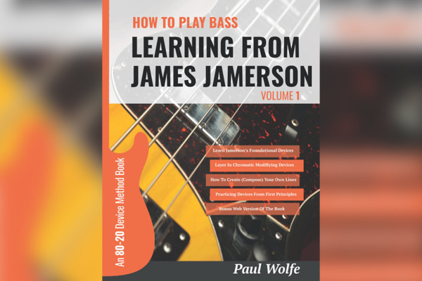 """Paul Wolfe Publishes """"Learning From James Jamerson"""" Instructional Book"""
