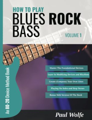 How to Play Blues Rock Bass Vol 1