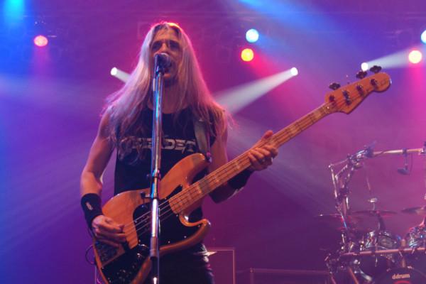 Megadeth Unveils New Bassist