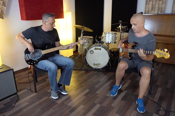 Nenad Vasilic and Vladimir Samardzic: Bass Jam