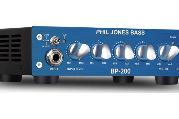 Phil Jones Bass Unveils the BP-200 Bass Head