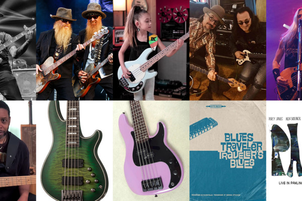 Weekly Top 10: Ryan Stasik Interview, Megadeth's New Bassist, Left Hand Technique, New Gear, and More