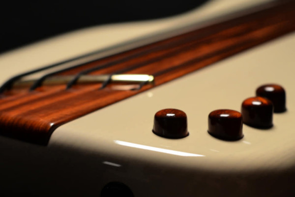 Bass of the Week: Algan Guitars Custom Fretless Multiscale Bass