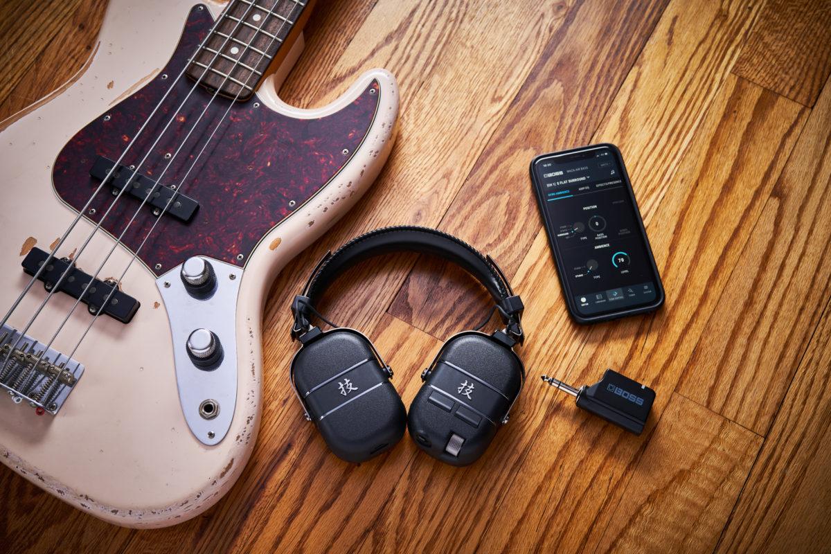 Boss Waza-Air Bass Wireless Personal Amplification System