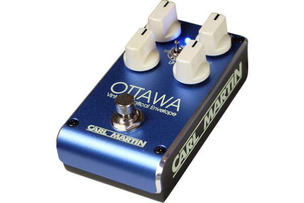 """Carl Martin Introduces New Envelope Filter, """"The Ottawa"""" Pedal"""