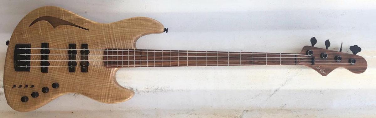 De Gier Guitars Custom Bebop Slap Bass