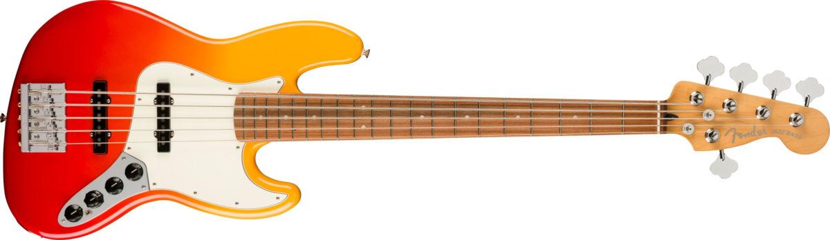 Fender Player Plus Jazz Bass V Tequila Sunrise