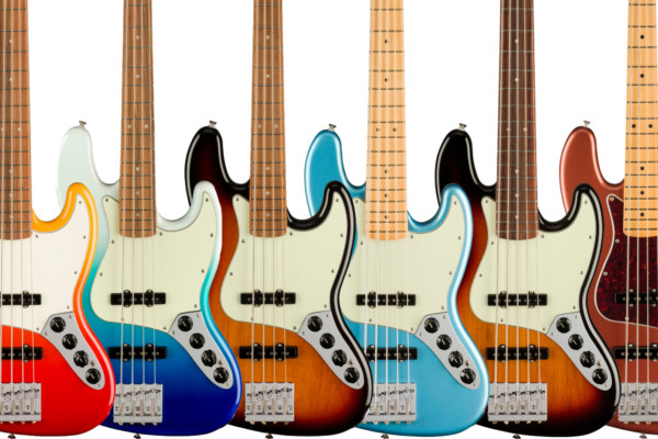Fender Unveils Player Plus Series Basses