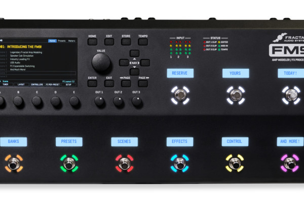 Fractal Audio Now Shipping the FM9