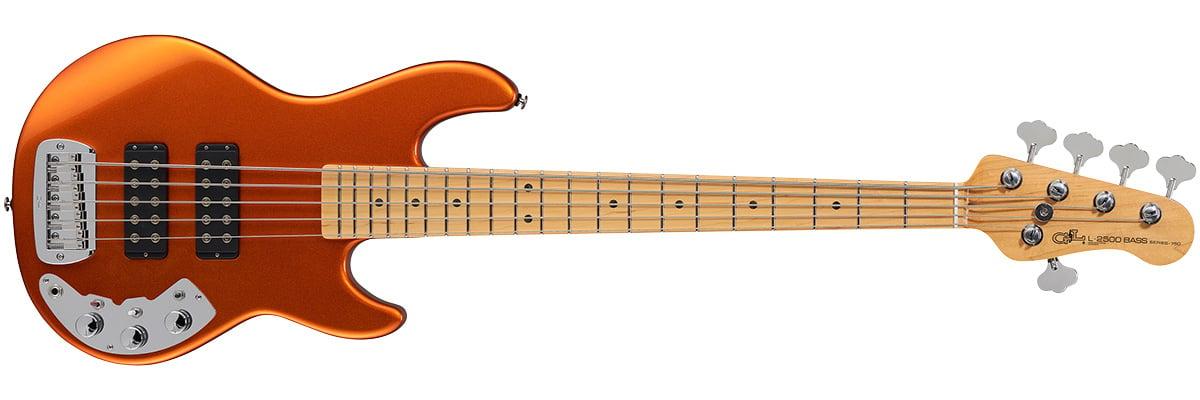 G&L L-2500 Series 750 Tangerine Bass