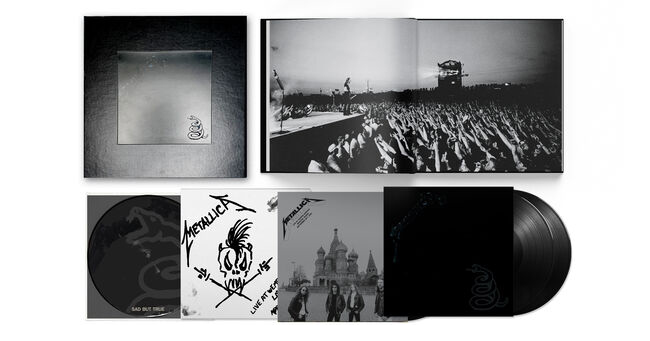 Metallica Black Album Deluxe Box Set