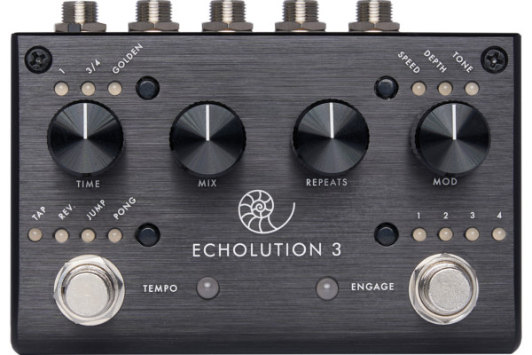 Pigtronix Introduces the Echolution 3 Pedal