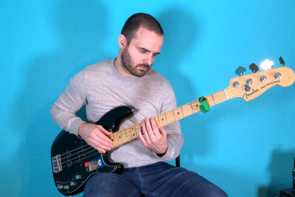 Tapping Grooves: Vol. 1 Transcription and Lesson for 4-String Bass
