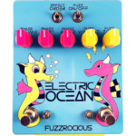 Fuzzrocious Pedals Introduces the Electric Ocean Fuzz/Phaser Pedal