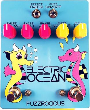 Fuzzrocious Pedals Electric Ocean Pedal