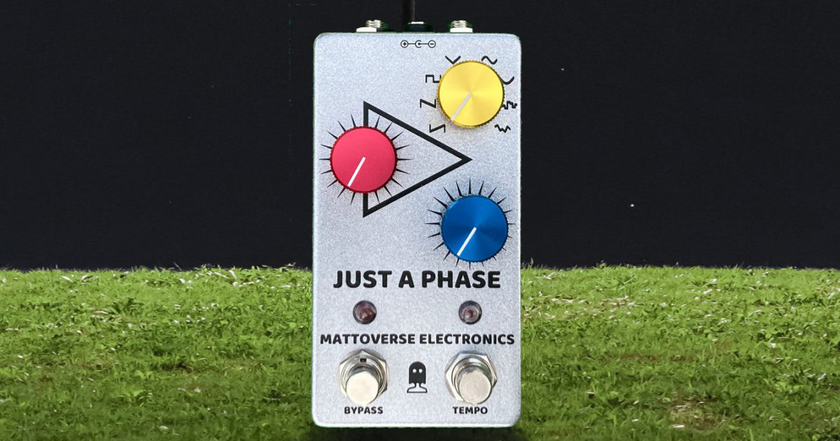 Mattoverse Electronics Just A Phase Pedal