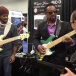 Andre Berry, Nate Phillips & Wayne Jones: NAMM Jam