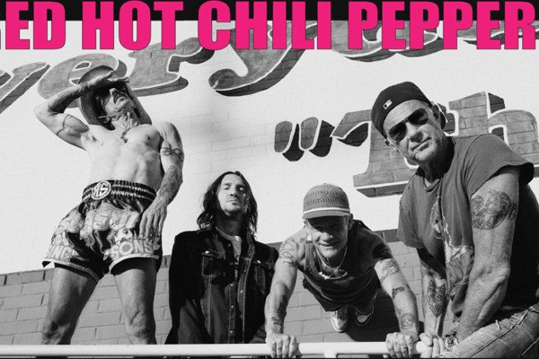 Red Hot Chili Peppers Unveil World Tour Details